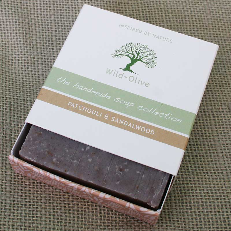 Picture of Wild Olive Patchouli & Sandalwood Handmade Soap