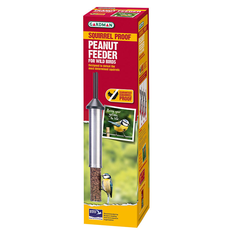 Picture of Squirrel Proof Peanut Feeder for Wild Birds