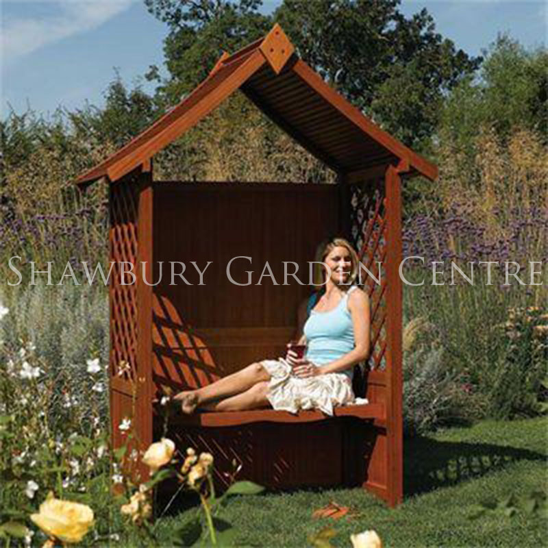 Picture of Rowlinson Canterbury Hardwood Arbour