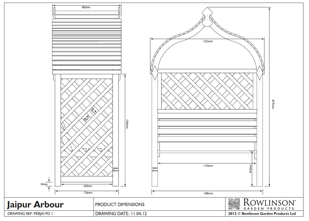 Picture of Rowlinson Jaipur Arbour