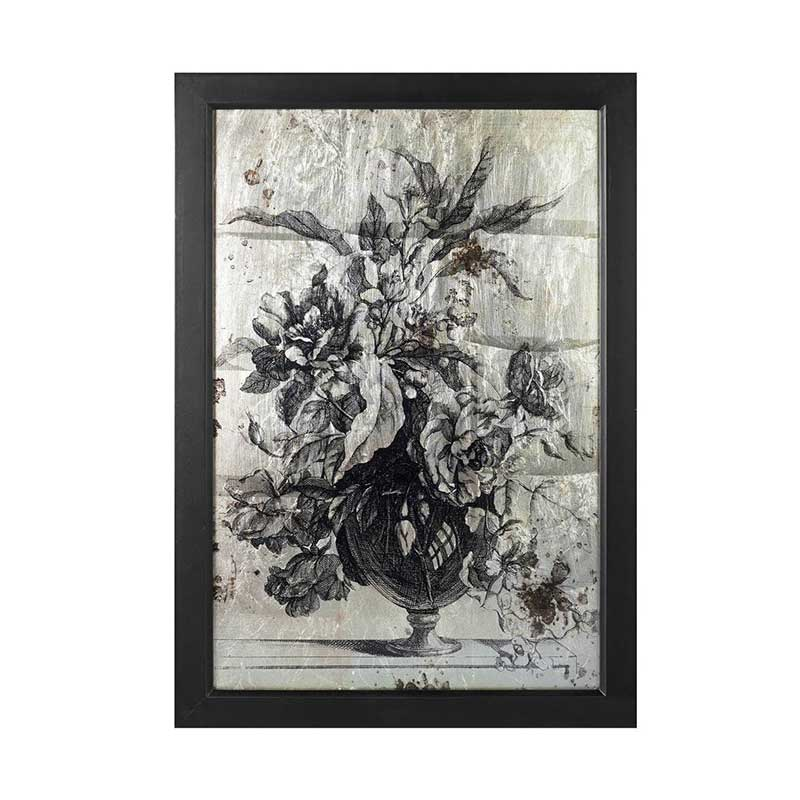 Picture of Parlane Wall Art Flowers in Vase