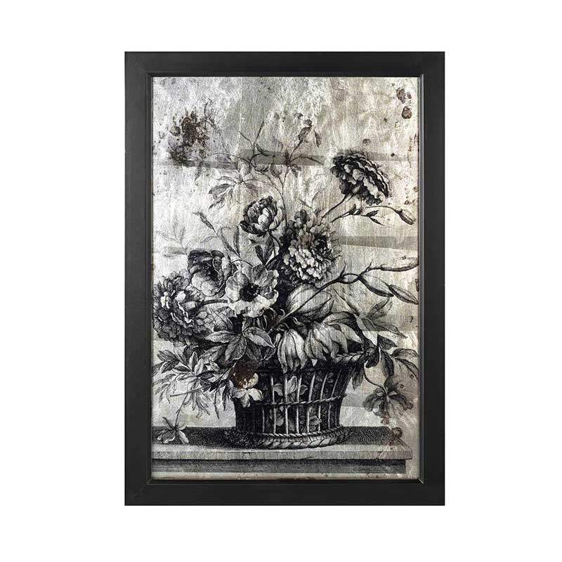 Picture of Parlane Wall Art Flowers in Basket