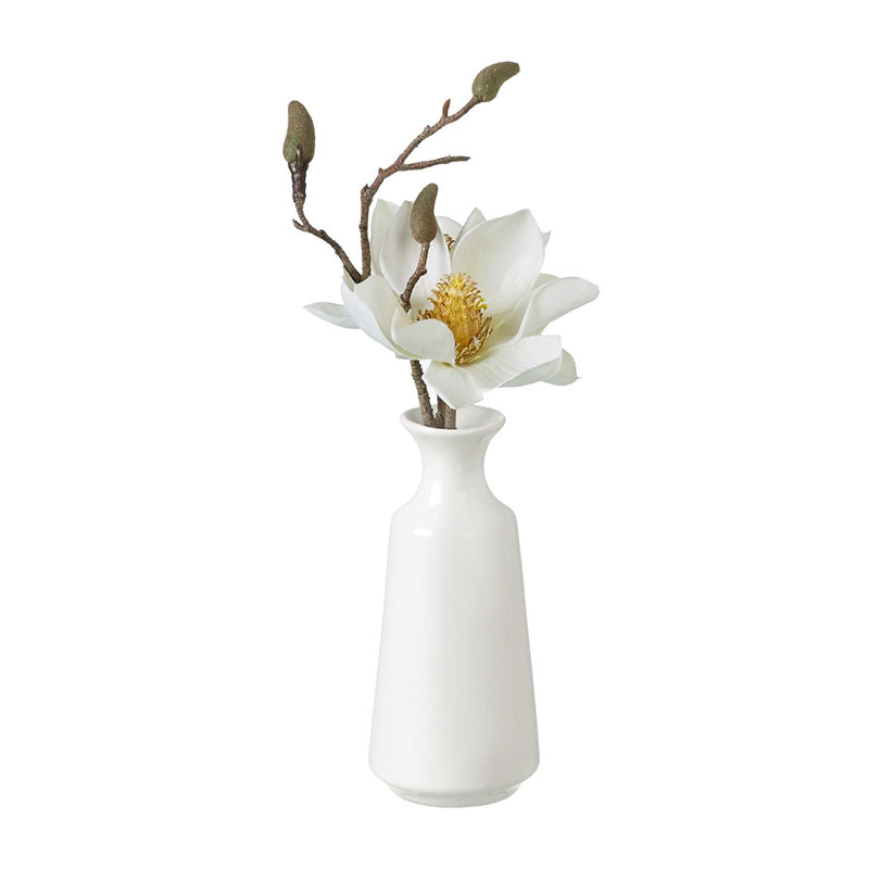 Picture of Parlane Faux Magnolia in Ceramic Vase