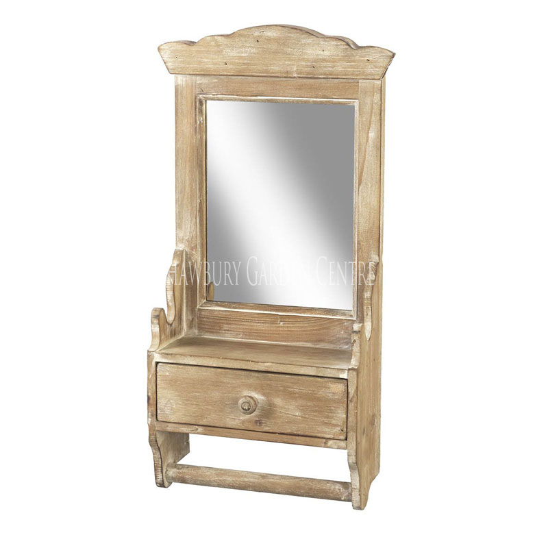 Picture of Parlane Mirror with Drawer
