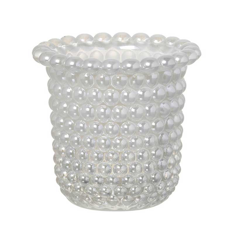 Picture of Beaded Glass T Light Holder