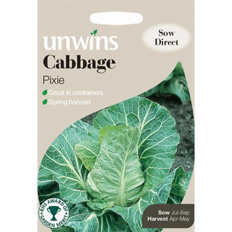 Picture of Unwins 'Pixie' Cabbage Seeds