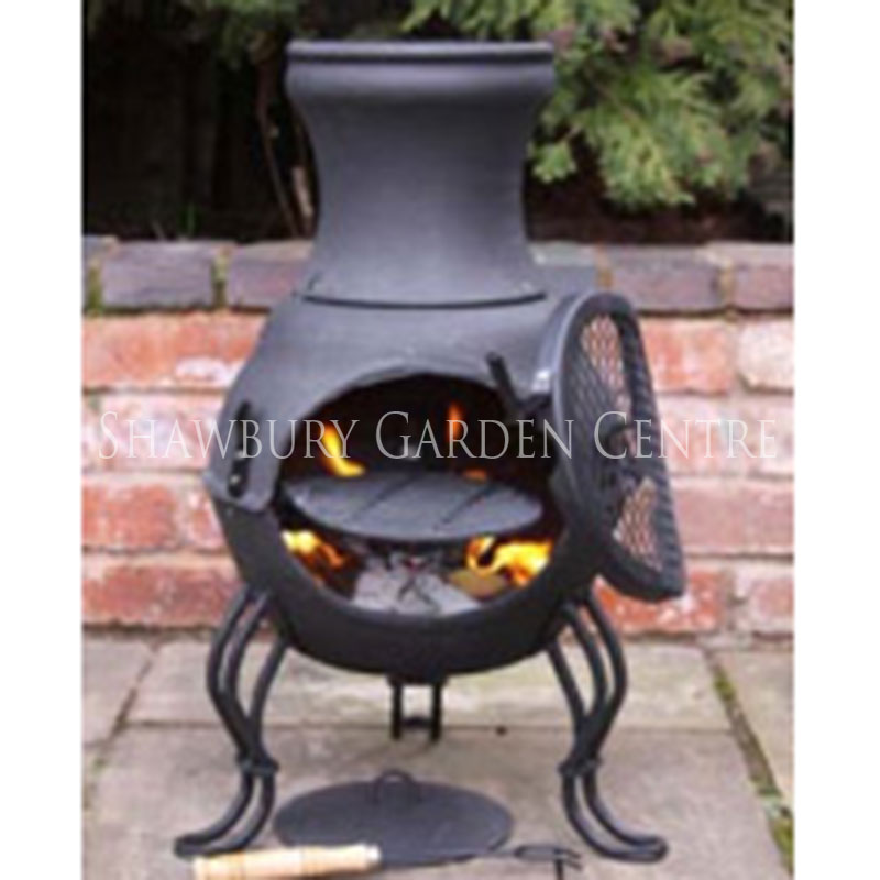 Picture of Gardeco 'Billie' Cast Iron Chimenea
