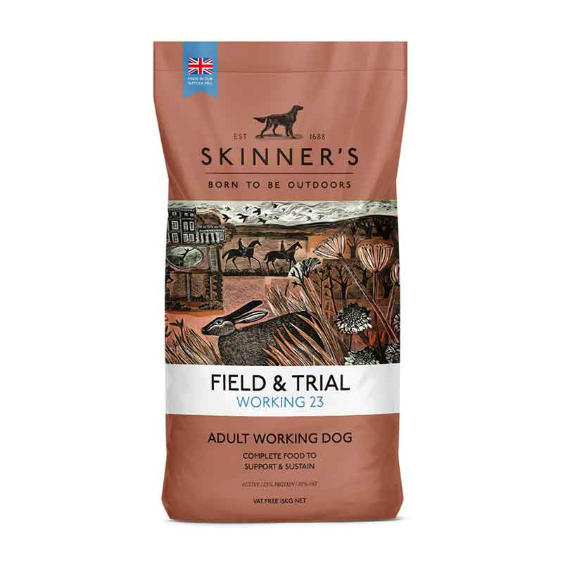 Picture of Skinners Field & Trial Working 23 Dog Food with Beef