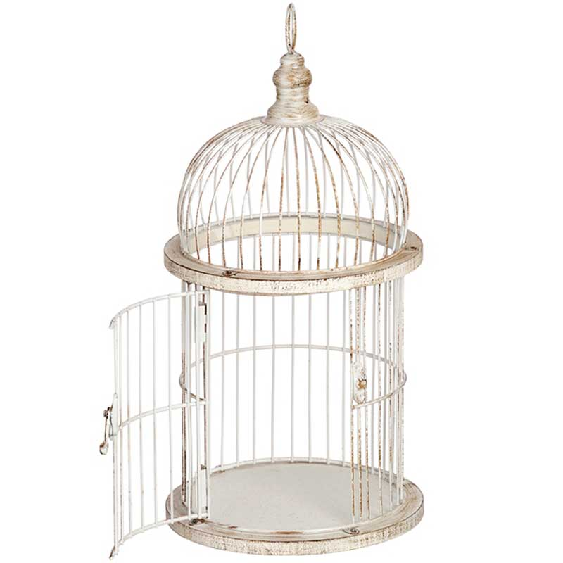 Picture of Antique Style Birdcage Candle Holder