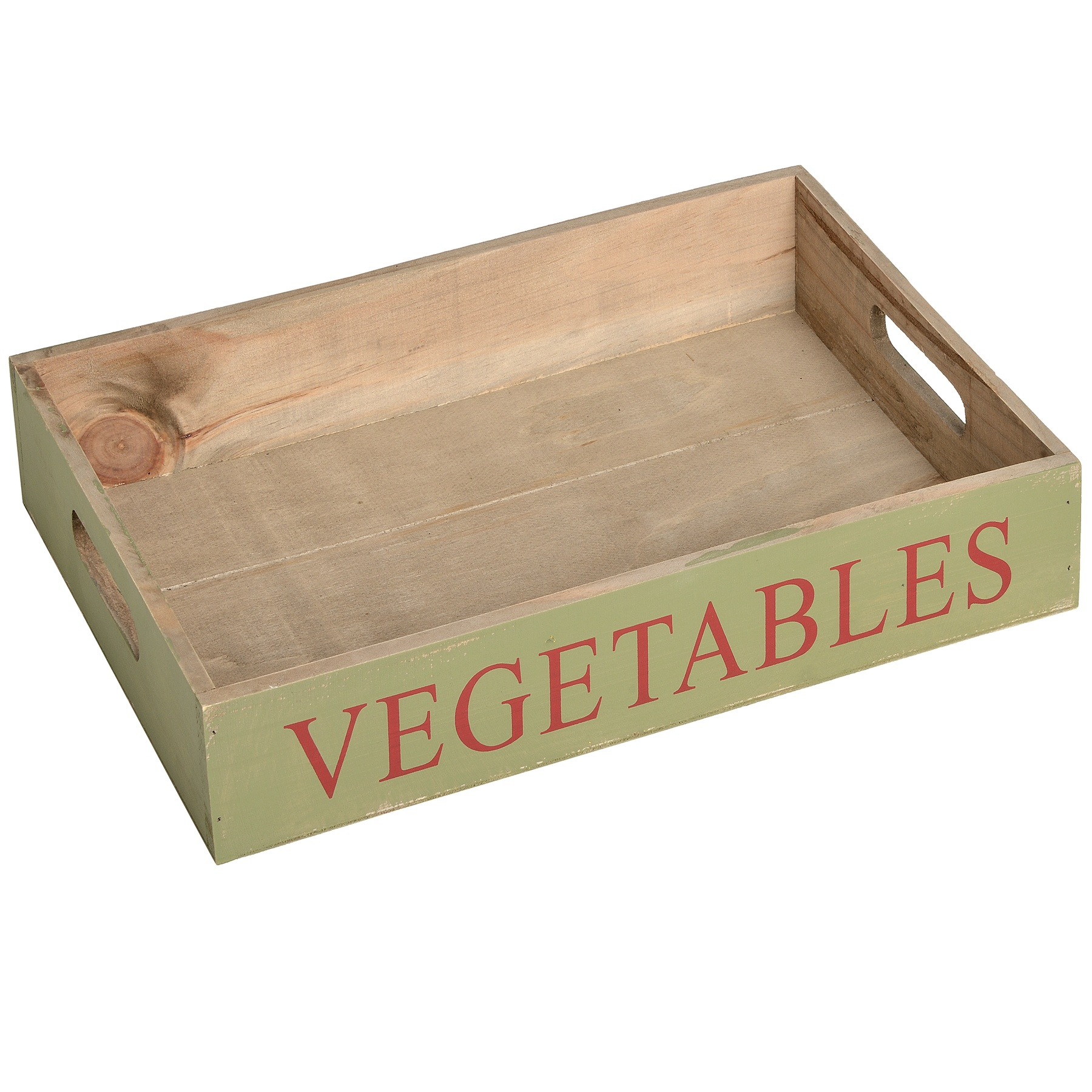 Picture of 'Vegetables' Green Tray