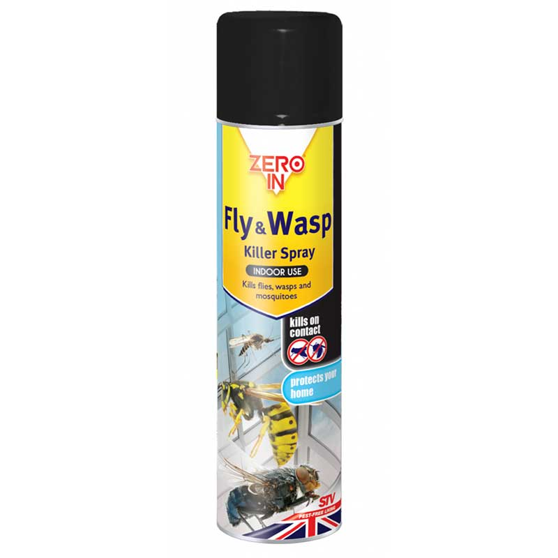 Picture of ZERO IN Fly & Wasp Killer Spray