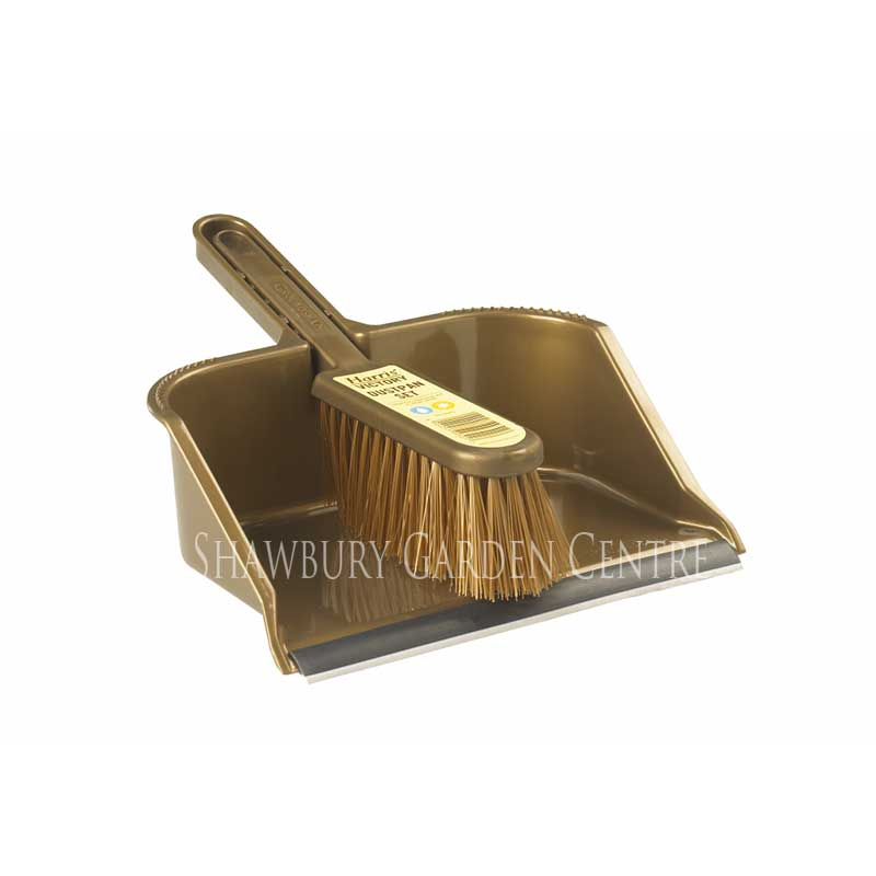 Picture of Harris RHS Groundsman Dustpan & Brush Set