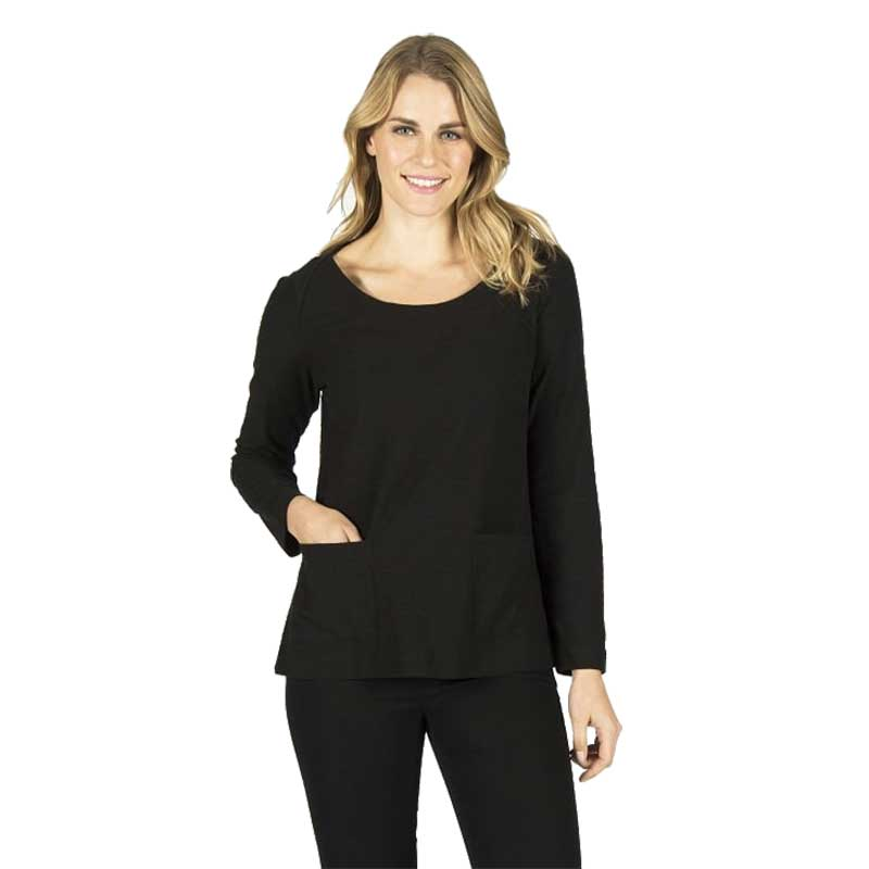 Picture of Capri Clothing Black Tunic Top