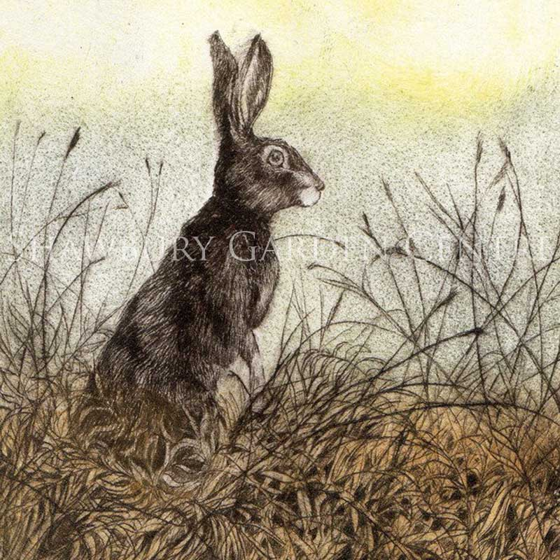 Picture of Sentry by Sarah Bays - Blank Inside Card