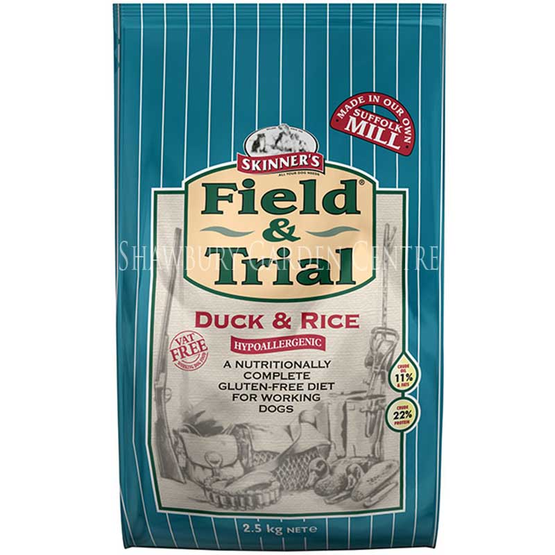 Picture of Skinners Field & Trial Duck & Rice Dog Food