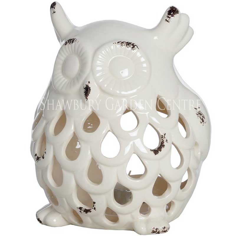 Picture of Ceramic Owl Candle Holder