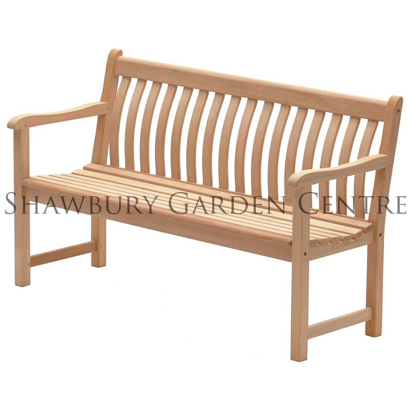 Picture of Alexander Rose Mahogany Broadfield Bench 5ft