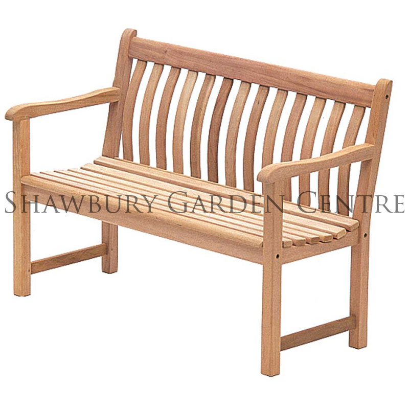 Picture of Alexander Rose Mahogany Broadfield Bench 4ft