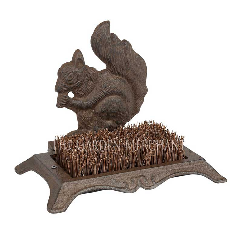 Picture of Gardman Cast Iron Squirrel Boot Scraper
