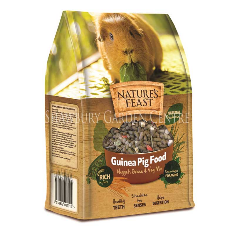 Picture of Nature's Feast Guinea Pig Food
