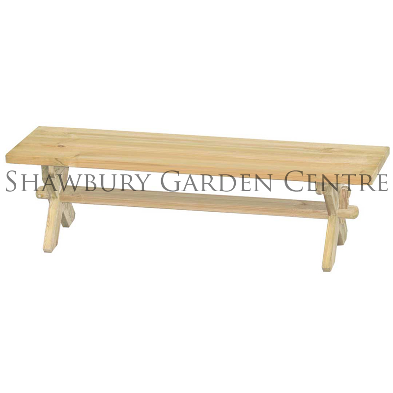 Picture of Alexander Rose Pine Farmer's Bench: 6ft