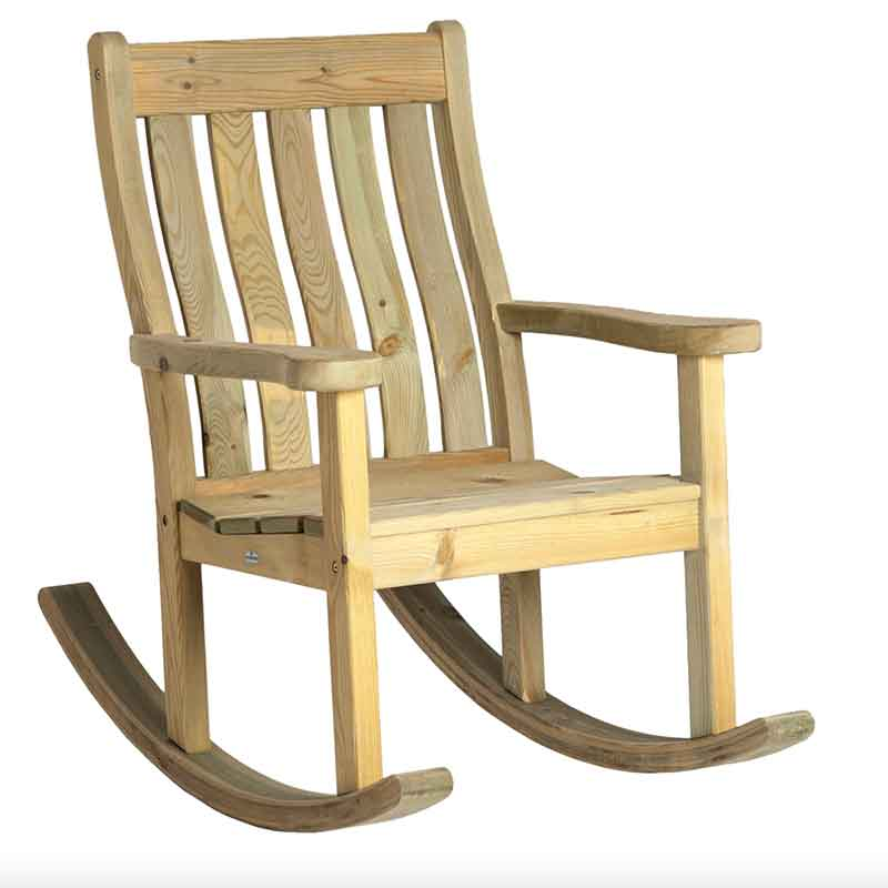 Picture of Alexander Rose Pine Farmer's Rocking Chair