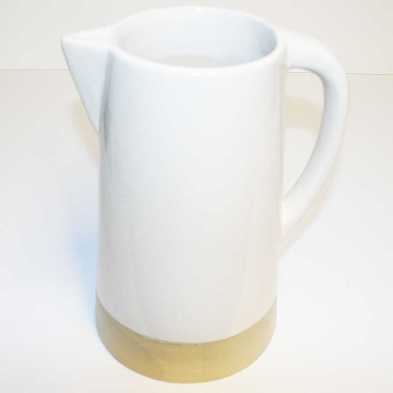 Picture of Parlane Large White Ceramic Pitcher Jug