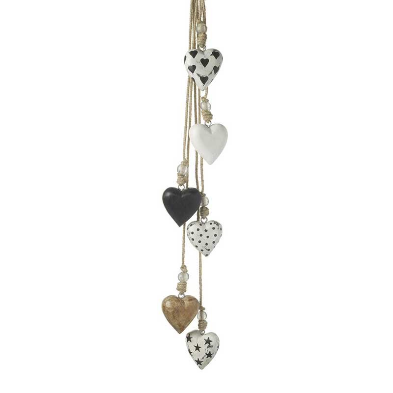 Picture of Parlane Hanging Hearts Decoration