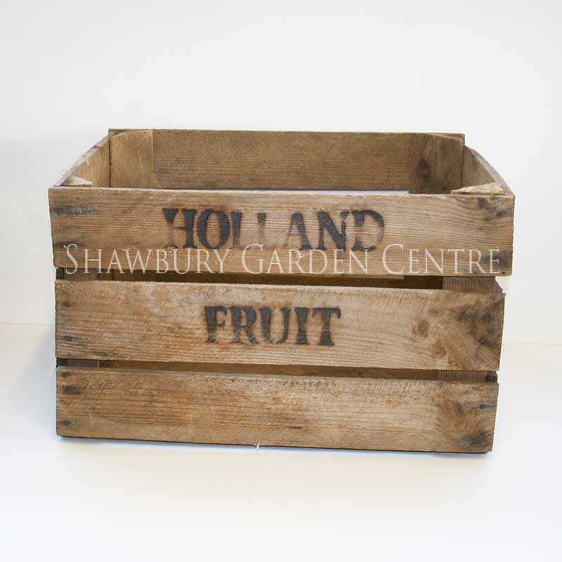 Picture of Vintage Style Wooden Crate