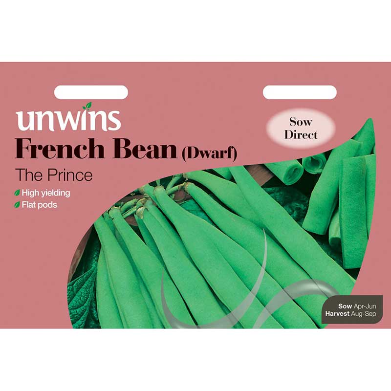 Picture of Unwins 'The Prince' Dwarf French Bean Seeds