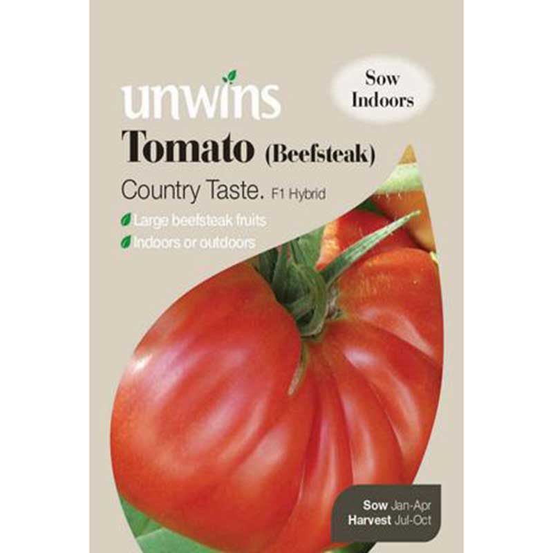 Picture of Unwins 'Country Taste' Beefsteak Tomato Seeds