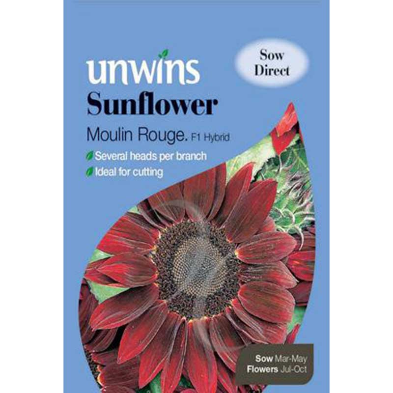 Picture of Unwins 'Moulin Rouge' Sunflower Seeds