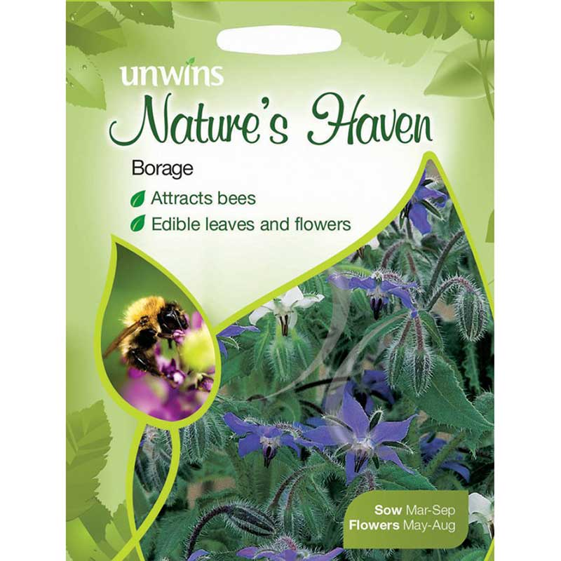Picture of Unwins Nature's Haven Borage Seeds