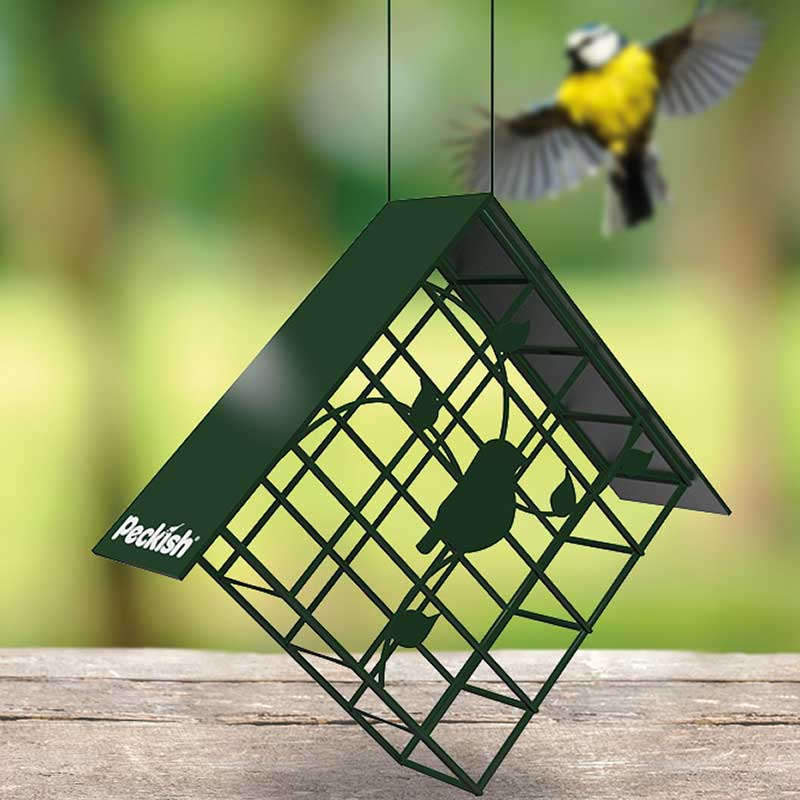 Picture of Peckish Diamond Suet Cake Bird Feeder