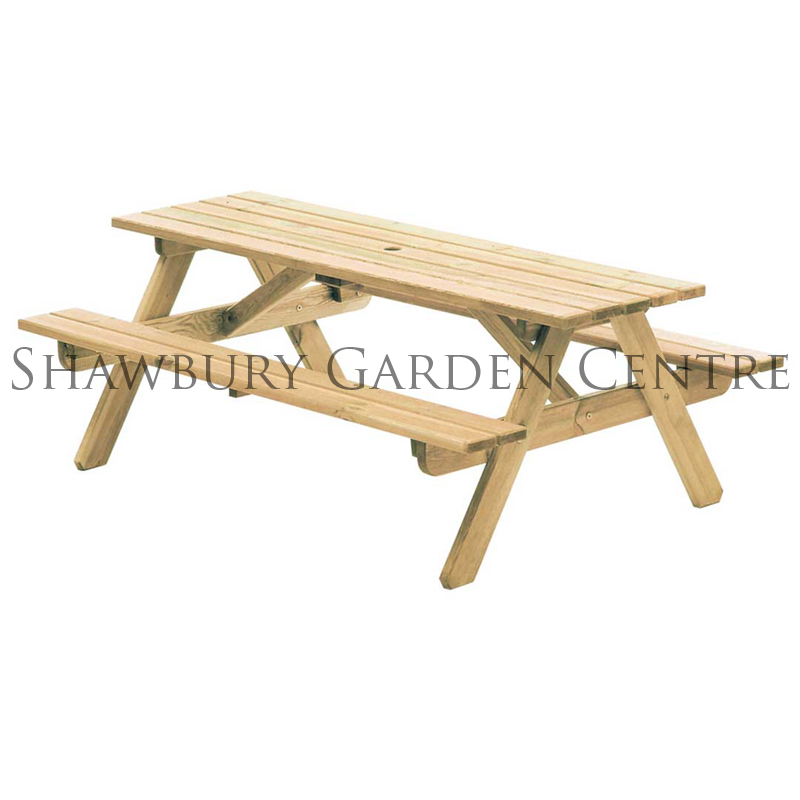 Picture of Alexander Rose Woburn Picnic Table
