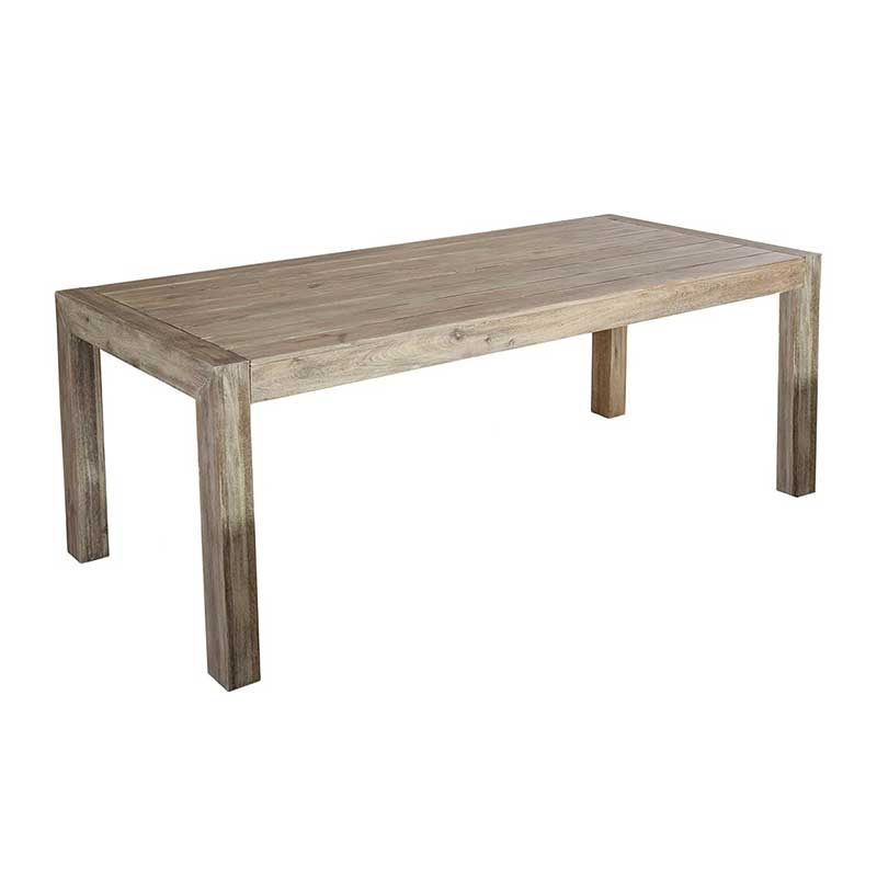 Picture of Alexander Rose Painted Acacia Rectangular Table