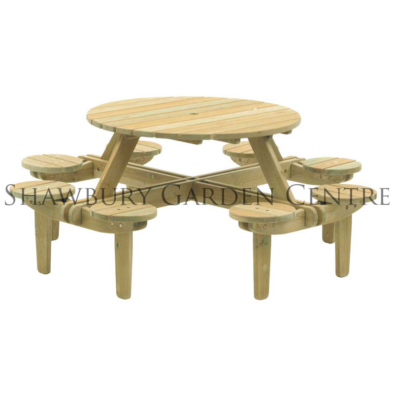 Picture of Alexander Rose Gleneagles PICNIC TABLE