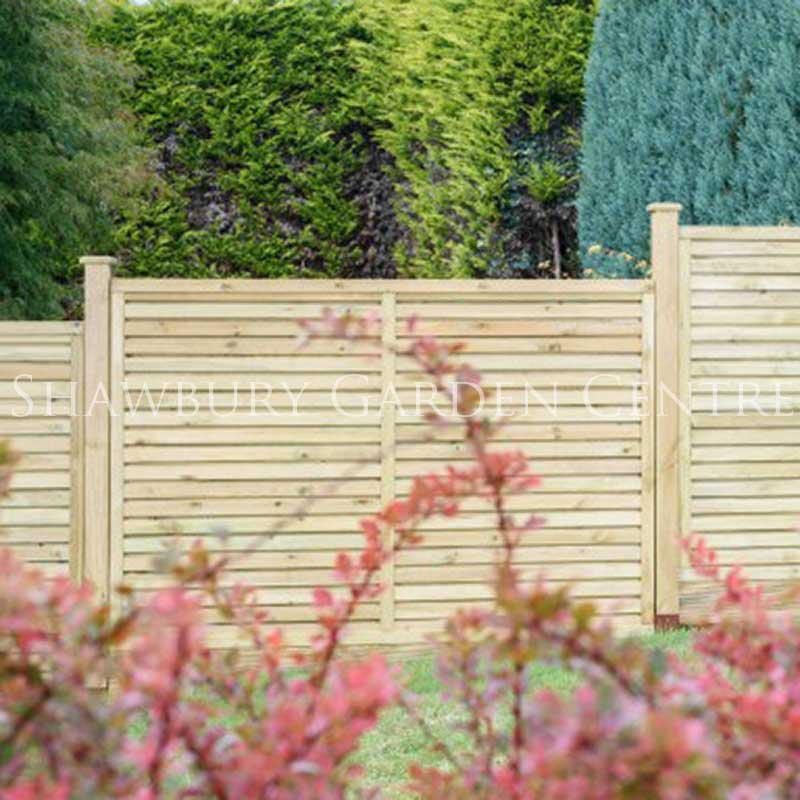 Picture of Grange 1.2m Contemporary Vogue Fence Panel