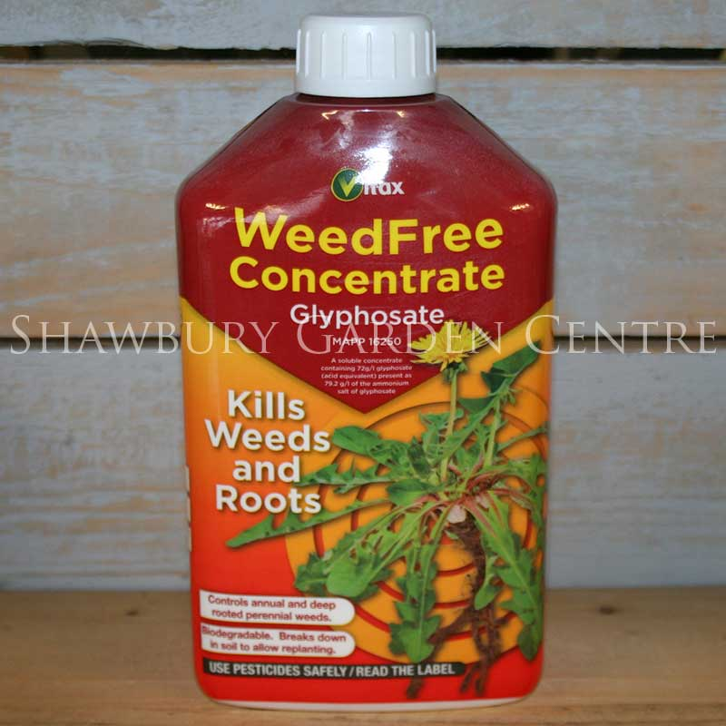 Picture of Vitax WeedFree Concentrate High Strength Glyphosate Weedkiller