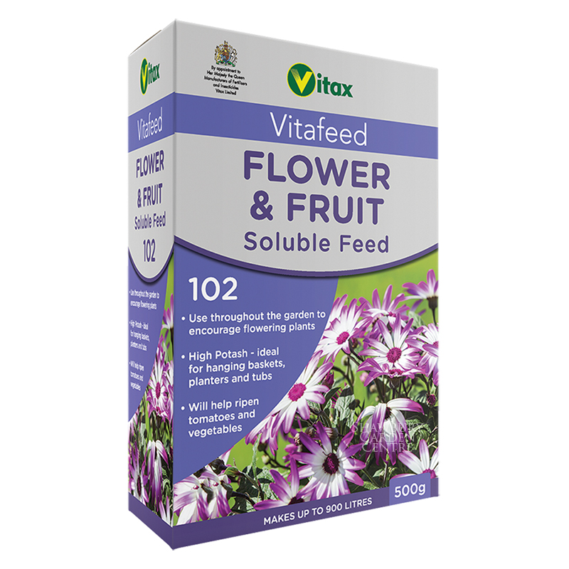Picture of Vitax Vitafeed 102 Flower & Fruit Soluble Feed