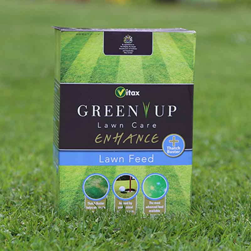 Picture of Vitax GREEN UP Enhance Lawn Feed + Thatch Buster