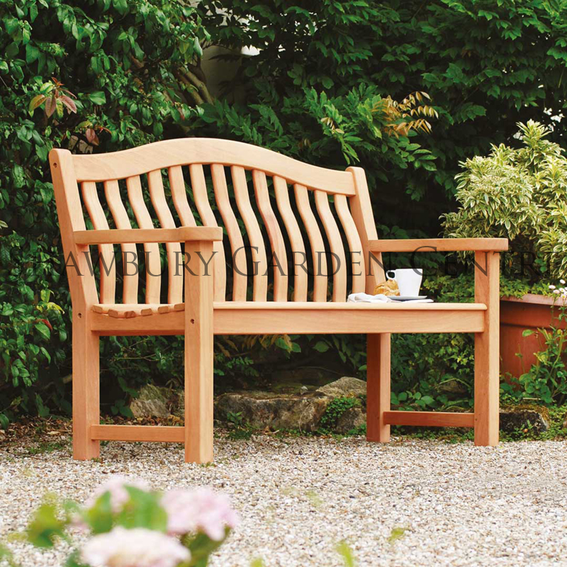 benches bench frontfla arm sloane sons westminster wooden seater flat garden teak