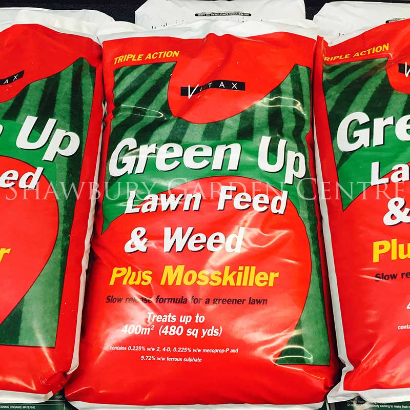 Picture of Vitax Green Up Lawn Feed & Weed + Moss Killer