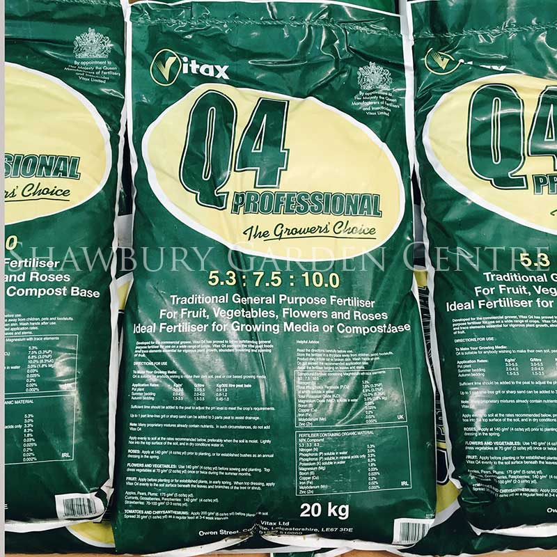 Picture of Vitax Q4 Professional Garden Fertiliser Powder