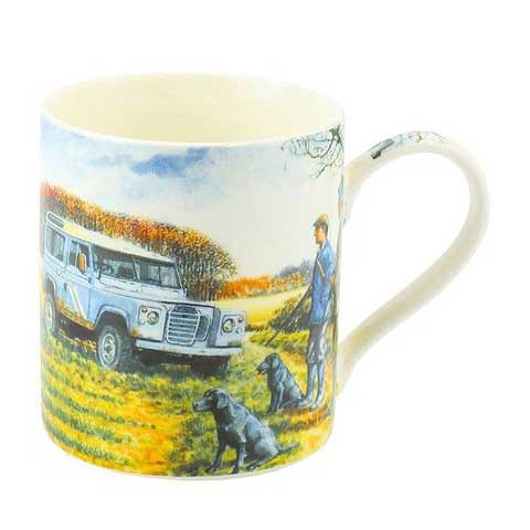 Picture of Shooting Fine China Mug