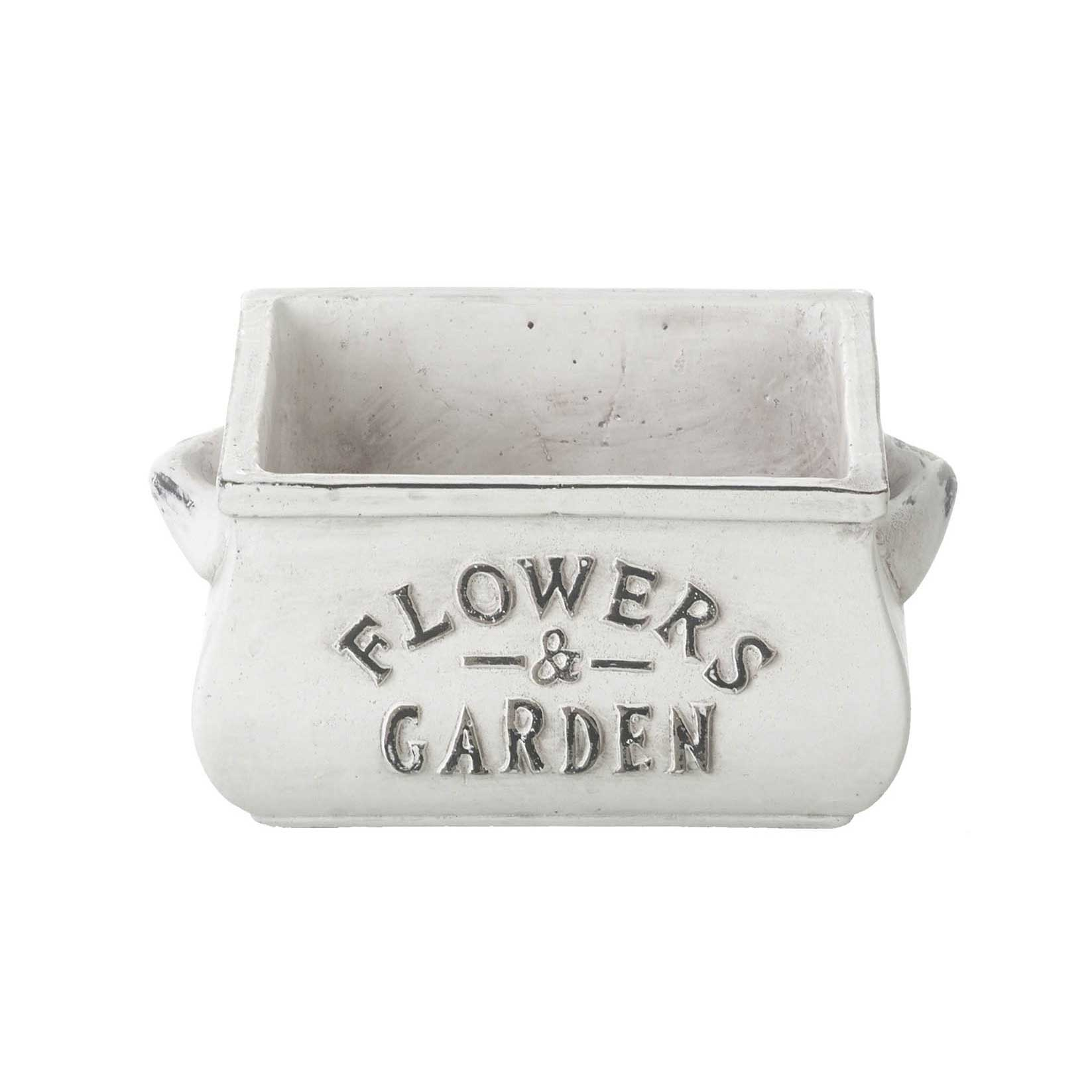 Picture of Parlane Flowers & Garden Glazed Concrete Planter