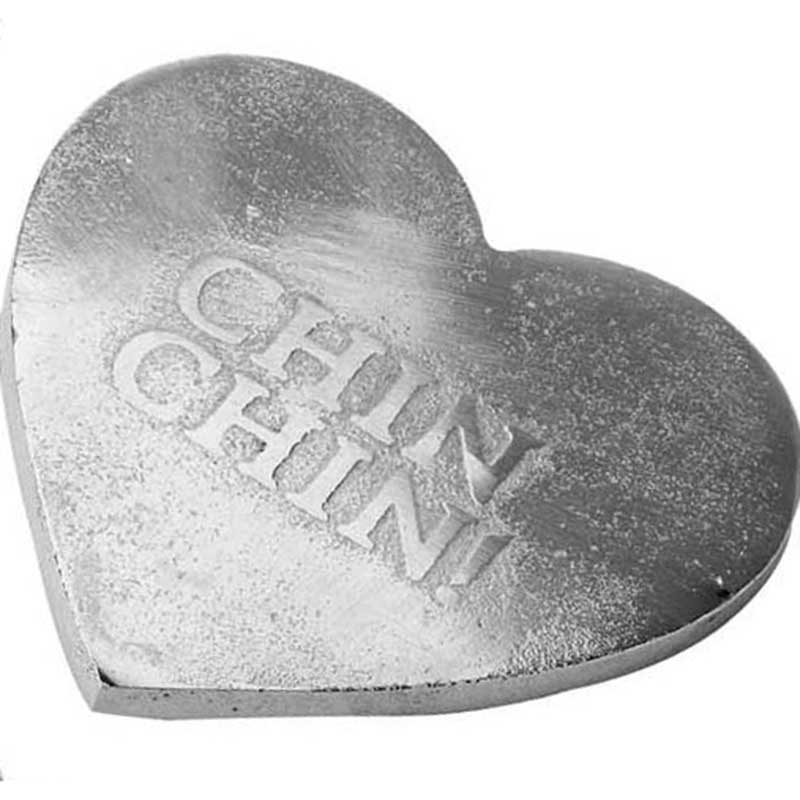 Picture of Parlane Metal Heart Shaped Coaster