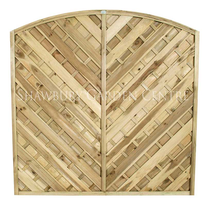 Picture of Forest Garden Europa Bradville Screen Fence Panel