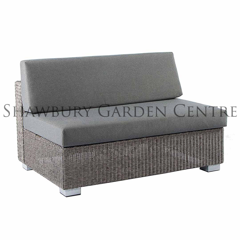 Picture of Alexander Rose Monte Carlo Modular 2-Seater Sofa with Cushions