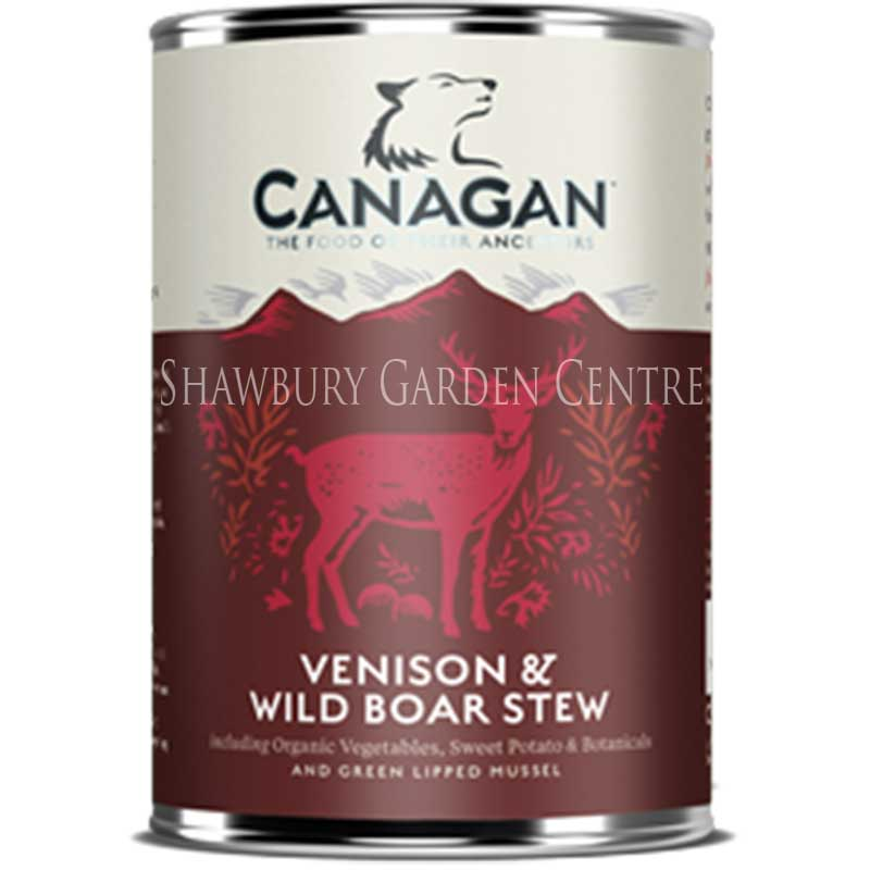 Picture of Canagan Venison & Wild Boar Stew Tinned Dog Food
